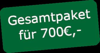 Gesamtpaket 700€,-