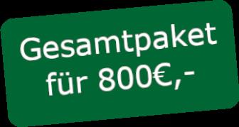 Gesamtpaket 800